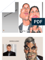 Caricatures of Famous People