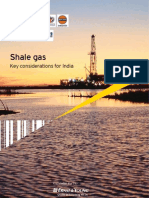 Shale Gas Key Considerations for India- E&Y