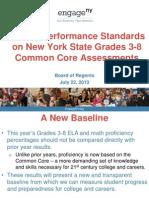 July 22, 2013—New York's Standard Setting process