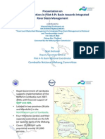 IWRM Best Practices in Pilot 4 Ps Basin by Watt Botkosol