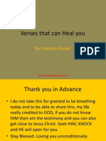 Verses That Can Heal You