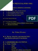 Atencion Prenatal(Who 1996)