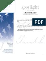 Spotlight 442 Budget Basics