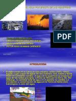 Contaminacion Del Agua Por Efecto de Las Industrias