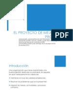 Proyecto de Mejora de Procesos AdmProcesos MLRoche Diciembre2012