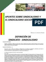 APUNTES SOBRE SINDICALISMO Y EL SINDICALISMO SOCIOPOLÍTICO