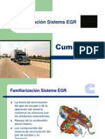Familiarización Sistema EGR