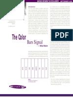 Color Bar Signal