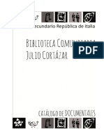 CATÁLOGO DOCUMENTALES