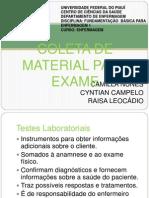 Coleta de Material Para Exame 2