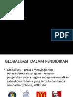 GLOBALISASI  DALAM PENDIDIKAN.ppt