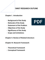 Accty Research Outline-1