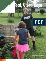 Wilmington College- Grow Food Grow HopeSummer 2013