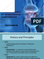 Pharmacology of Intravenous Induction Agents