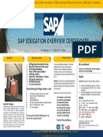 Sap Road Map Overview Certificate 15 June 2013