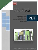 Proposal Pengadaan Kebutuhan Inventaris Masjid Al - Hidayah