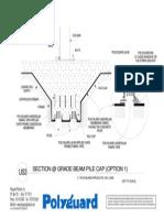 Us3 - Grade Beam Pile Cap Option 1