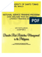 UST NSTP E-READ Chapter 4 Disaster Preparedness and Management