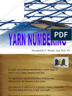 Yarn Numbering and Sewing Threads