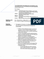 Summary to an Act Financing the Production and Preservation of Housing for Low and Moderate Income Residents