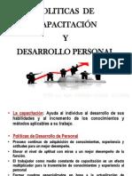 Politicas de Capacitacion y Desarrllo Personal