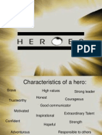 Heroes Powerpoint
