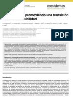 Agroecologia promoviendo