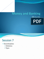 MB Summer13 -Session 7 -  Securitization.pptx