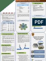 Leaflet Januari2012 Statistik Kalsel 2012