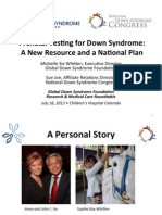 Prenatal Testing for Down Syndrome
