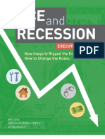 2009 Race and Recession Report Executive Summary