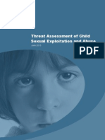 Threat Assessment of Child Sexual Exploitation and Abuse