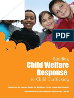 Building Child Welfare Response to Child Trafficking