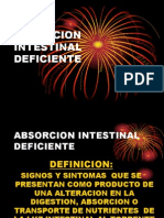 Absorcion Intestinal Deficiente Done