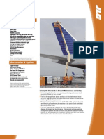 Model 740 AJ Articulating Boom Lift Spec Sheet