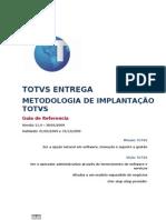 MIT001 - Metodologia de Implantacao TOTVS
