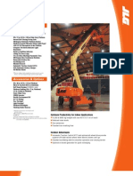 Model E600 Series Electric Boom Lifts