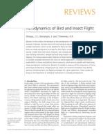 Aerodynamics of Bird and Insect Flight.pdf