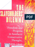 Eugene Genovese - The Slaveholders' Dilema