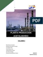 Produccion de Acetaldehido