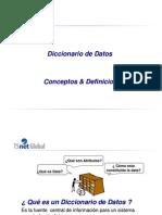 Clase de Diccionario de Datos