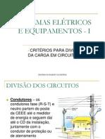 Critérios para Divisão dos Circuitos.ppt