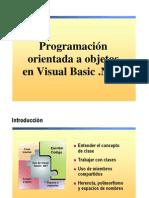 10.- Programacion Orientada a Objetos en Visual Basic .NET