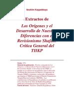 Ibrahim Kaypakkaya - Los origenes y el desarrollo de nuestras diferencias con el revisionismo Shafak, (Extractos).docx
