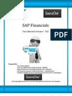 SAP Financials - Tax Collected at Source Manual
