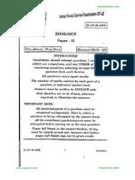 Optional Paper Zoology II