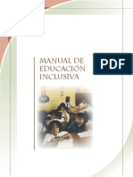 Manual Educacion Inclusiva