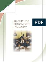 Manual Educacion Inclusiva
