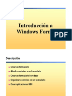 6.- Windows Forms