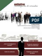 Ppt Metodos Cuantitativos en La Investigacion de Mercados